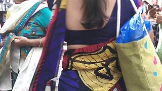 Desi Aunty Wonderful Walk And Mind Blowing Donk