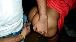 Indian In Hard Outdoor Fucking