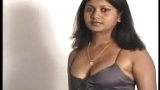 Amateur Indian chick teasing her beautiful breasts