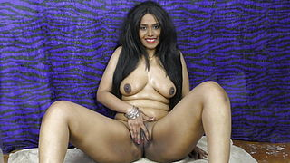 HornyLily Strips, Dances And Opens Up Her Beaver For You