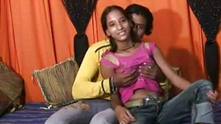 Sexy amateur Indian girl pounded in her tight butt