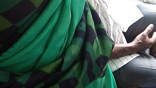Tamil Hot Saree Aunty Dicking And Grouped In Bus