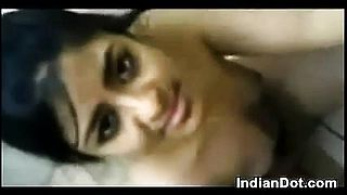 Indian Cutie Giving Her BF A Blowjob