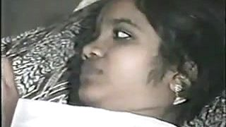 Vintage video of this amateur Indian couple fucking
